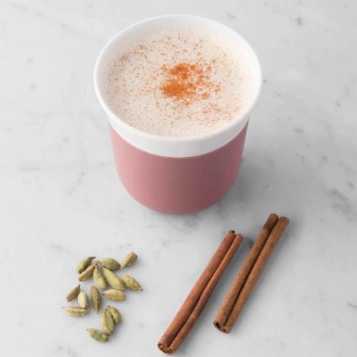 BergHOFF Leo Porcelain Travel Mug - Pink Perspective: top