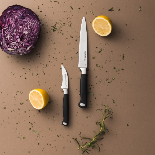 BergHOFF Essentials Stainless Steel Gourmet Utility Knife Perspective: top