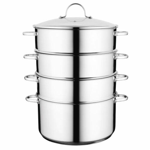 BergHOFF Essentials Comfort Stainless Steel Steamer Set Perspective: top