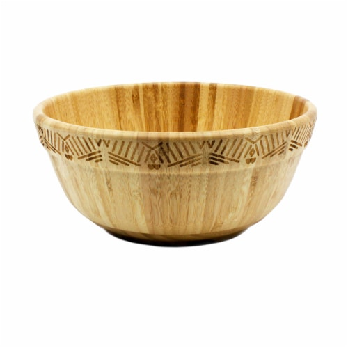 BergHOFF Bamboo Two-Tone Salad Bowl Perspective: top