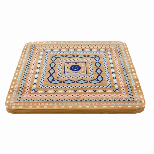 BergHOFF Multi-Colored Trivets Perspective: top