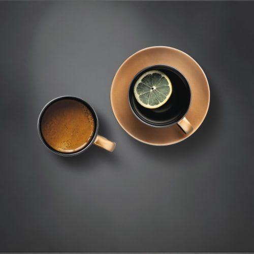 BergHOFF Gem Coffee and Tea Set - Black/Gold Perspective: top