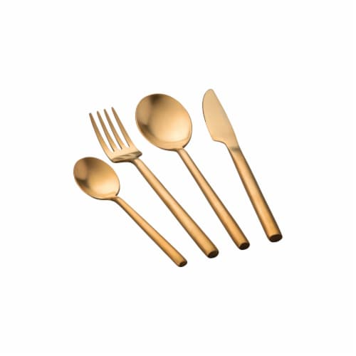 BergHOFF Flatware Set - Gold Plated Perspective: top