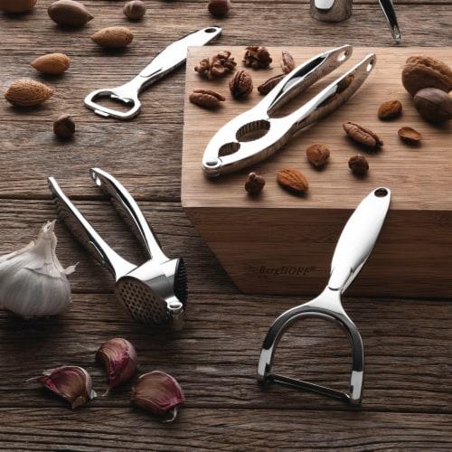 BergHOFF Essentials Stainless Steel Garlic Press Perspective: top