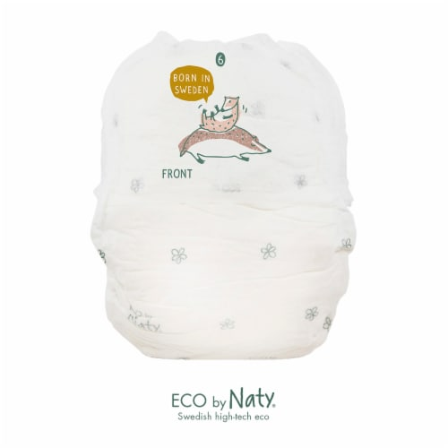 Eco by Naty Size 6 Pull-Ups Training Pants 72 Count Perspective: top
