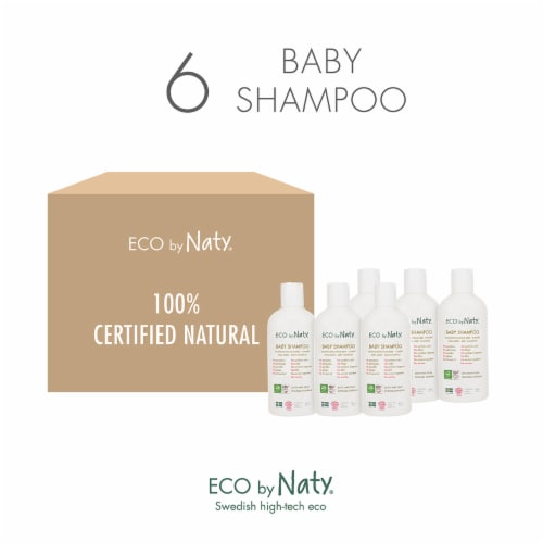 Eco by Naty Baby Shampoo 6 Count Perspective: top