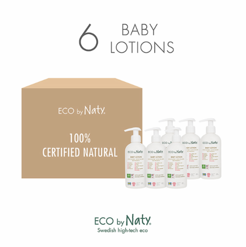 Eco by Naty Baby Lotion 6 Count Perspective: top
