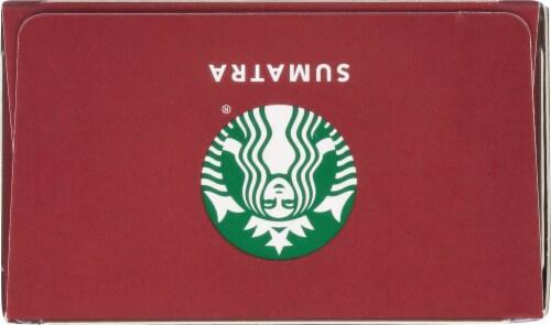 Starbucks by Nespresso Sumatra Single-Origin Ground Coffee Aluminum Capsules 10 Count Perspective: top