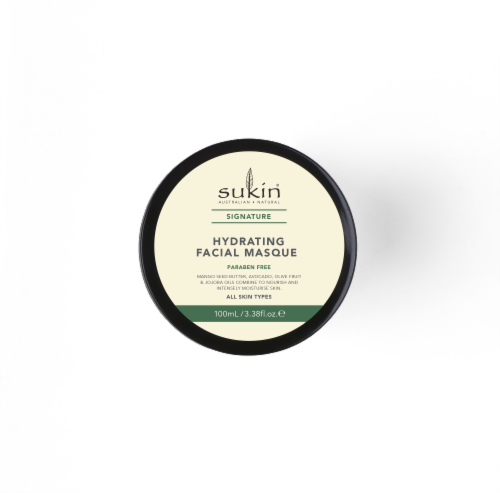 Sukin Hydrating Facial Masque Perspective: top