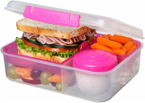 Sistema Bento Lunch To Go Container - Assorted Perspective: top