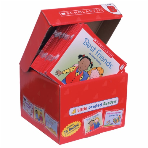 Scholastic Little Leveled Readers Level B Box Set Perspective: top