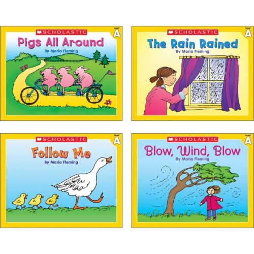 Scholastic Little Leveled Readers Level A Box Set Perspective: top