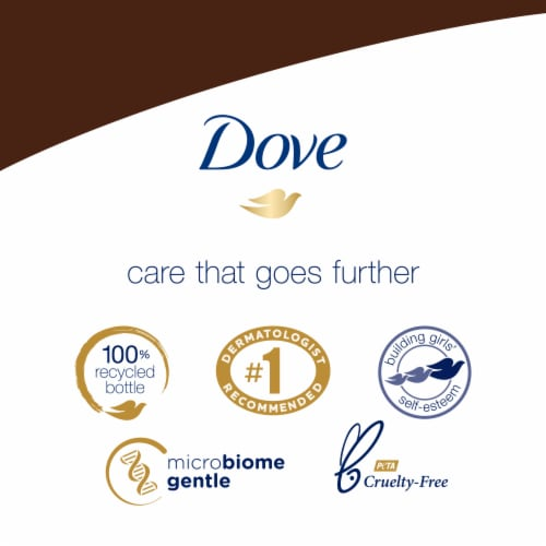 Dove Purely Pampering Coconut Milk & Jasmine Petals Nourishing Body Wash Perspective: top