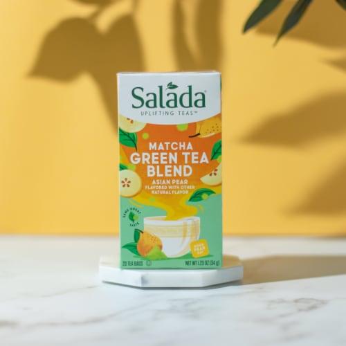 Salada Asian Pear Matcha Green Tea 20ct - 6 pack Perspective: top