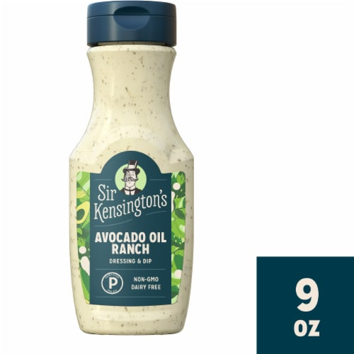 Sir Kensington's Ranch Avocado Oil Perspective: top