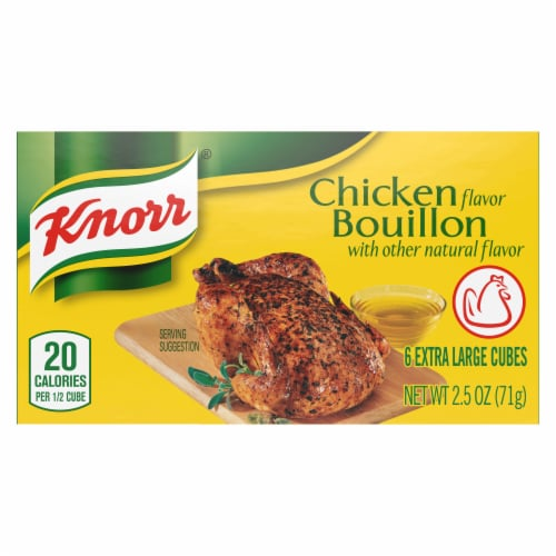 Knorr® Extra Large Chicken Bouillon Cubes (24 pack) Perspective: top