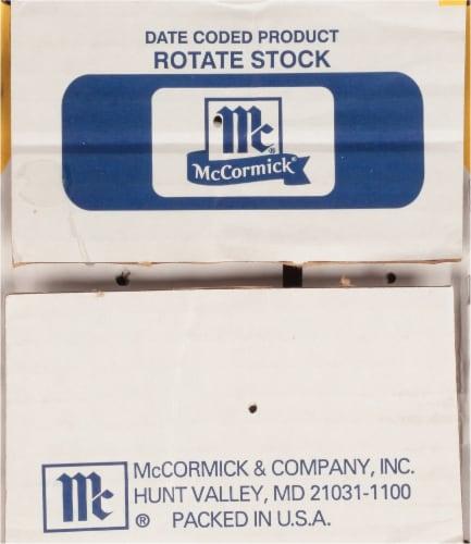 McCormick® Bag 'N Season Original Chicken Cooking Bag & Seasoning Mix Perspective: top