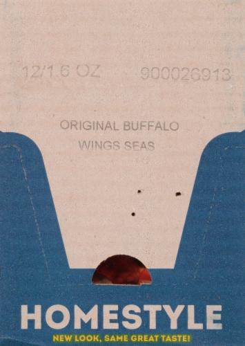 McCormick® Original Buffalo Wings Seasoning Mix Perspective: top