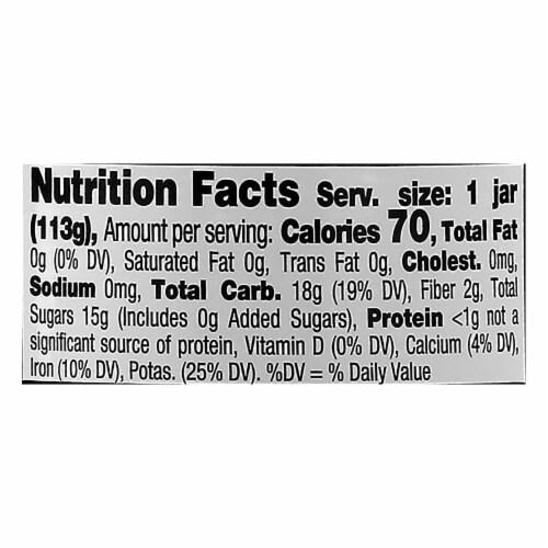 Beech-Nut Naturals Apple & Blackberry Stage 2 Baby Food Perspective: top