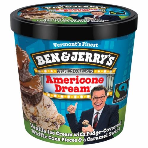 Ben & Jerry's Americone Dream Ice Cream Cups Perspective: top