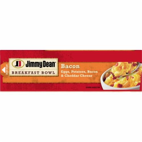 Jimmy Dean Bacon Egg Potato & Cheese Breakfast Bowl Frozen Meal Perspective: top