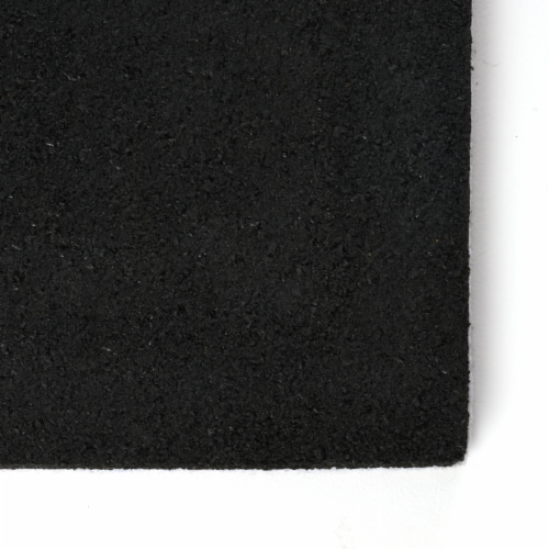 I LOVE CAMPING STEPHAN ROBERTS RECYCLED CRUMB RUBBER DOOR MAT (6MM) - 18 IN. X 30 IN. Perspective: top