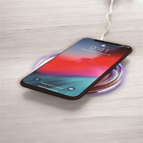 Wireless Smart Phone Charger Perspective: top