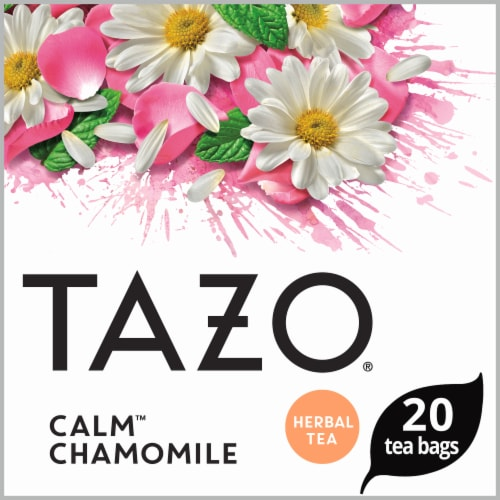 Tazo Decaf Calm Chamomile Tea (4 Pack) Perspective: top