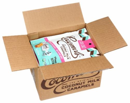 Cocomel - Organic Coconut Milk Caramels - Sea Salt - Case of 6 - 3.5 oz. Perspective: top