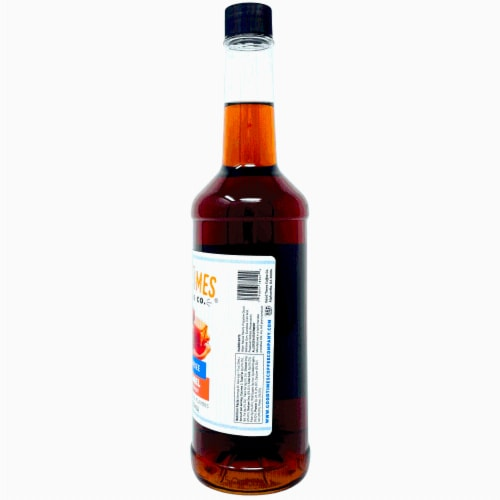 Sugar Free Caramel Syrup, Natural Flavor, Vegan, Gluten-Free, No Artificial Colors (6 Pack) Perspective: top