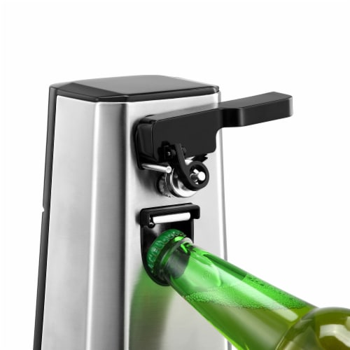 Professional Series Can Opener and Bottle Opener Stainless Steel Perspective: top