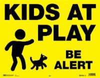 Hy-Ko Kids At Play Be Alert Sign - 1 ct