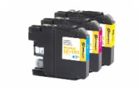 Dataproducts Remanufactured Inkjet Cartridges for Brother LC-101 Multi-Pack