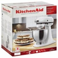 KitchenAid KSM75WH Classic Plus Tilt-Head Stand Mixer - White