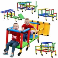 Funphix Wheelies Buildable Play Structure Set with Wheels