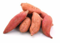 Organic Red Sweet Potatoes