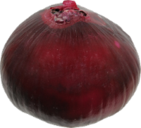 Organic Red Peeled Onions