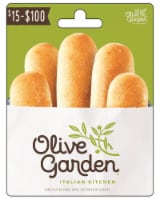 Darden Olive Garden $15-$100 Gift Card – Activate and add value after Pickup