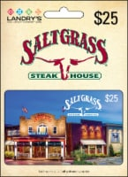 Saltgrass Steakhouse $25 Gift Card – Activate and add value after Pickup