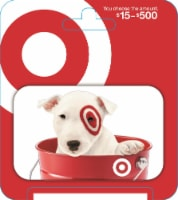 Target $15-$500 Gift Card – Activate and add value after Pickup