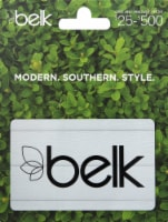 Belk $25-$500 Gift Card – Activate and add value after Pickup