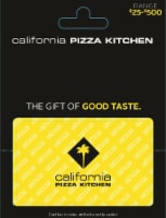 California Pizza Kitchen $25-$500 Gift Card – Activate and add value after Pickup