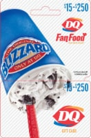 Dairy Queen $15-$250 Gift Card – Activate and add value after Pickup