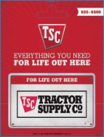 Tractor Supply Company $25-$500 Gift Card – Activate and add value after Pickup