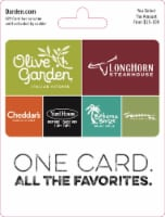 Darden $15-$100 Gift Card – Activate and add value after Pickup