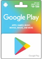 Google Play $10-$200 Gift Card – Activate and add value after Pickup