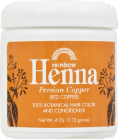 Rainbow Henna Persian Copper 100% Botanical Hair Color & Conditioner