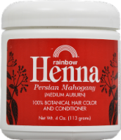 Rainbow Henna Persian Mahogany 100% Botanical Hair Color & Conditioner
