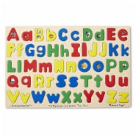 Melissa And Doug Two Alphabets Are Better Than One Puzzle - 1 Unit