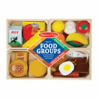 Melissa and Doug® Wooden Food Groups Playset - 1 ct